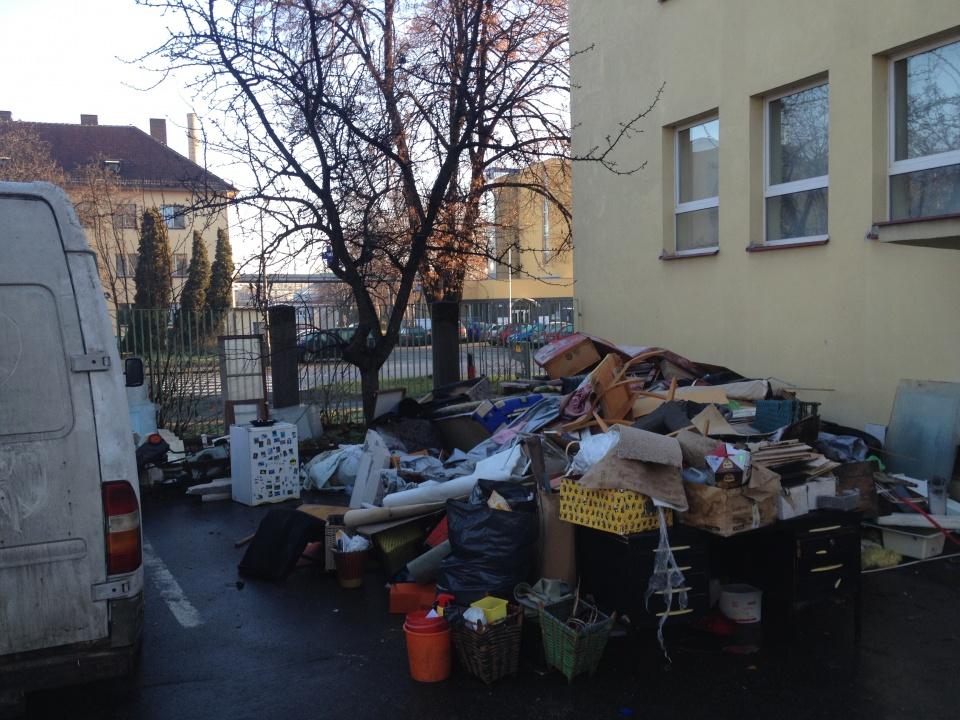 Vyklízení a odvoz odpadu